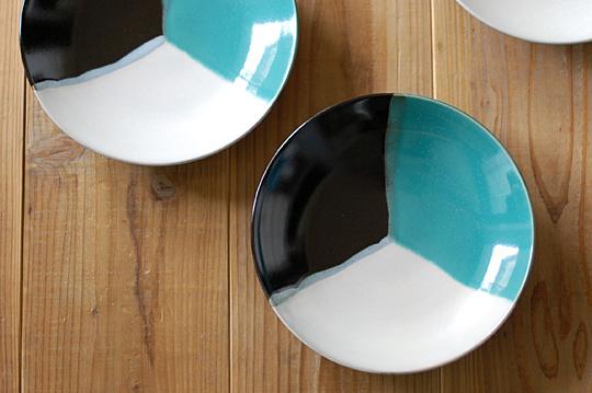 中井窯 3色8寸皿