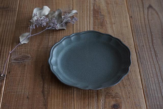 益子焼(よしざわ窯) 洋まる平皿