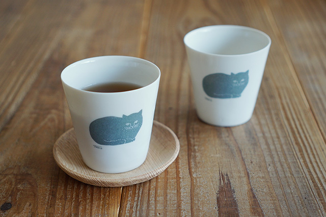 トモタケ 極薄白磁コップ 丸直製陶所