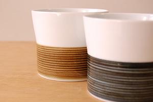 白山陶器 麻の糸フリーカップ