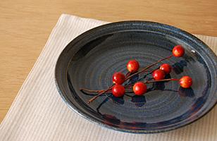 波佐見焼 ブルーナ皿