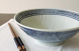 波佐見焼 藍駒麺鉢