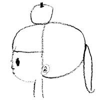 りんごの子守唄(白盤)