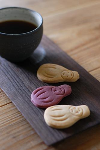 『ひめだるまクッキー』hug chai works