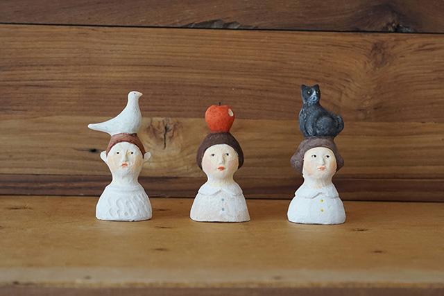 にしおゆき 陶製人形トルソシリーズ